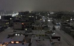 شبهای برفی و زمستان کابل