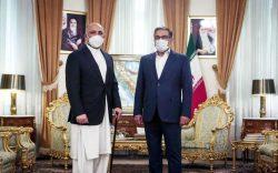 حنیف اتمر در تهران: حمایت ایران از موضع کابل در مذاکرات صلح قابل قدر است