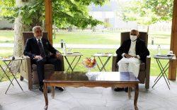 غنی و عبدالله در باره آغاز مذاکرات بینالافغانی بحث کردند