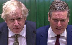 محبوبیت رهبر جدید حزب کارگر انگلیس از جانسون پیشی گرفت