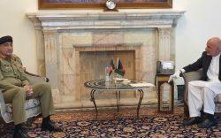 سفر باجوه پیش از مذاکرات داخلی به کابل