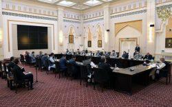 غیبت داکتر عبدالله در دیدار اشرفغنی با هیأت مذاکرهکننده صلح