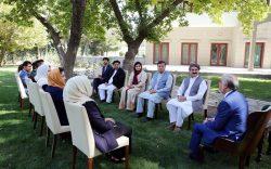 رییس شورای مصالحه: طالبان دست از بهانهجویی بردارند