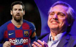 رییسجمهور آرژانتین به مسی: نتوانستیم بازیات را تماشا کنیم، این لذت را به ما بده