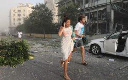 انفجار مهیب بیروت بیشتر از ۱۰۰ کشته و ۴۰۰۰ زخمی برجا گذاشت