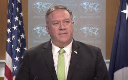 پمپیو روسیه را هشدار داد/ایران در حال مسلح کردن طالبان است