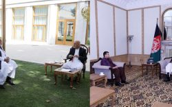 رییسجمهور غنی با روسای شورای ملی دیدار کرد