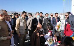 جلسۀ امنیتی رهبری حکومت در بامیان