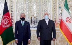 ظریف در دیدار با عبدالله: از تلاشهایتان برای دستیابی به صلح پشتیبانی میکنیم