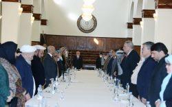 نشست کمیتۀ رهبری شورای عالی مصالحه برگزار شد