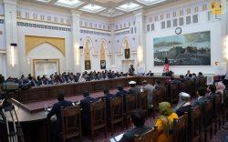 غنی:  حقانیت جمهوریت ثابت شد