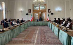 هیأت جمهوریت و طالبان در تهران: جنگ راه حل نیست، بهراه حل سیاسی تمرکز کنیم